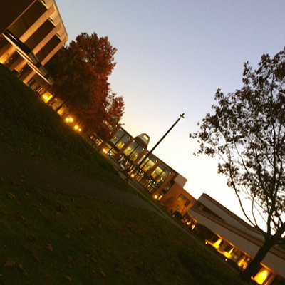 夜のWhatcom Community College