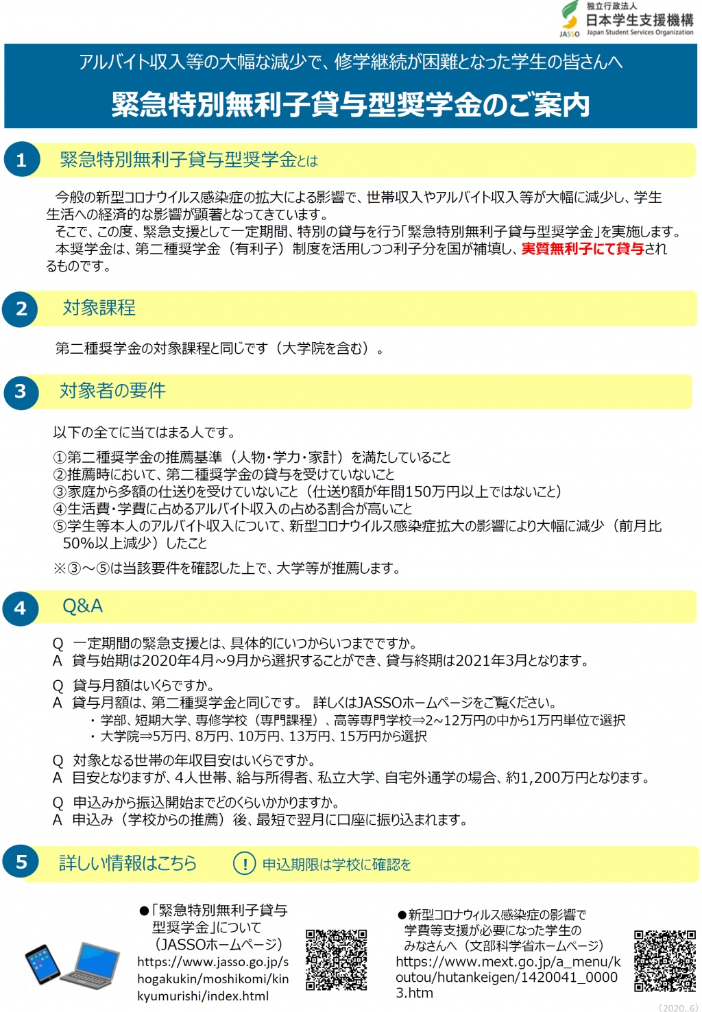 支援 相談 奨学 学生 センター 機構 日本 金