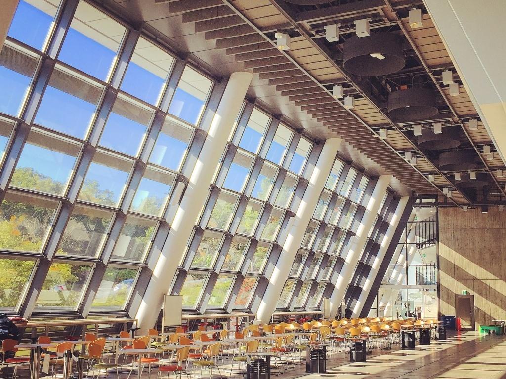 5号館 2階 Mフロント Daito Eyes 360 で見られるwebキャンパスツアー 大東文化大学